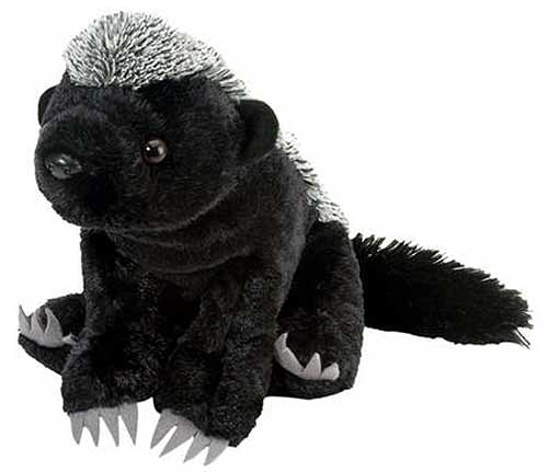 Honey Badger Plush Stuffed Animal 12