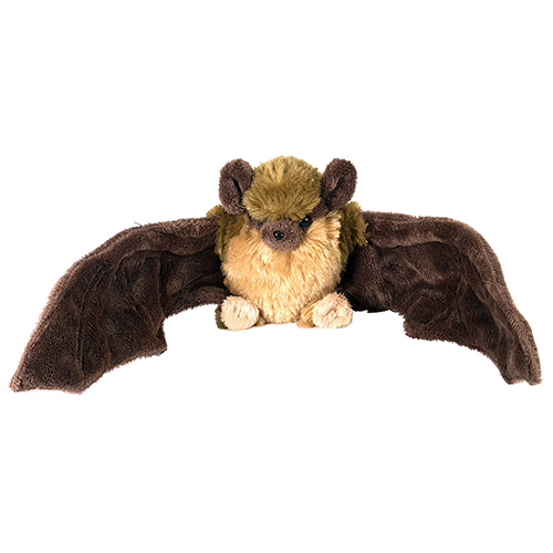 Brown Bat Mini Cuddlekins Plush Animal 9