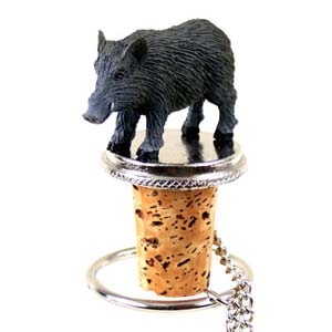 Razorback Bottle Stopper