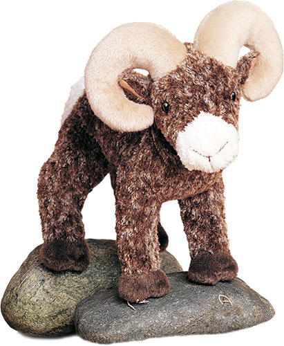 Big Horn Sheep Plush Stuffed Animal