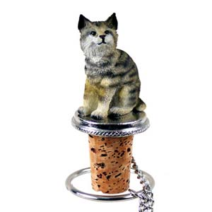 Bobcat Bottle Stopper