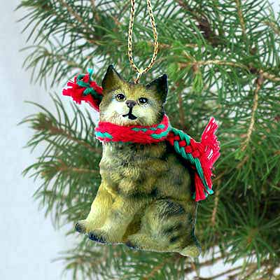 Bobcat Tiny One Christmas Ornament