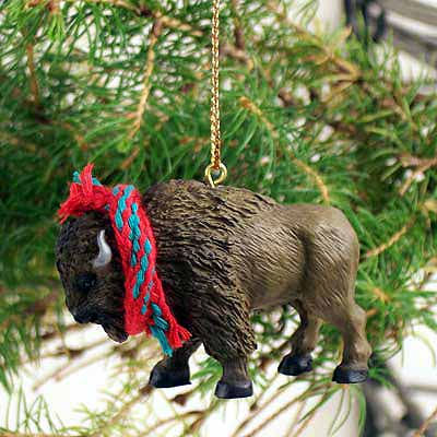 Buffalo Tiny One Christmas Ornament