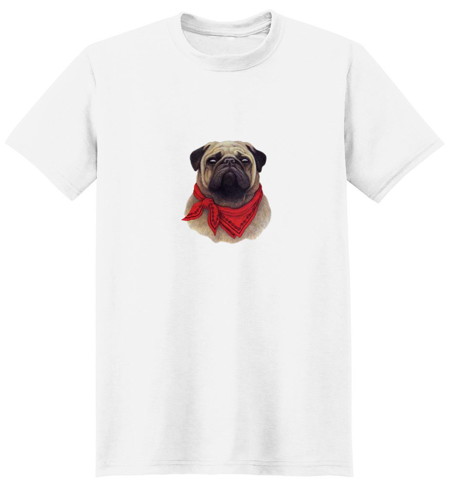 Pug T-Shirt - With Attitude