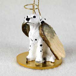 Dalmatian Christmas Ornament Angel