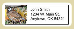 Quail Address Labels