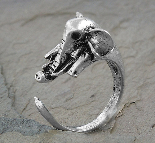 Adjustable Wrap Elephant Ring