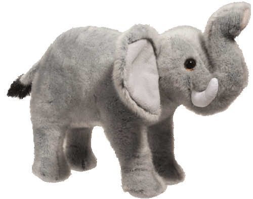 "Elephant Maude 9"" Stuffed Plush Animal"