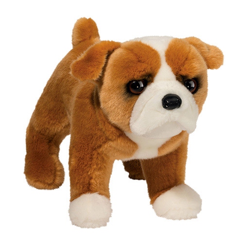 Bulldog Plush Stuffed Animal