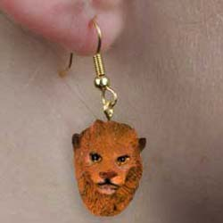 Lion Authentic Earrings