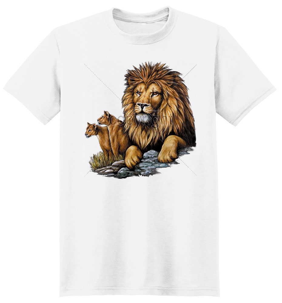 Lion T Shirt On The Watch