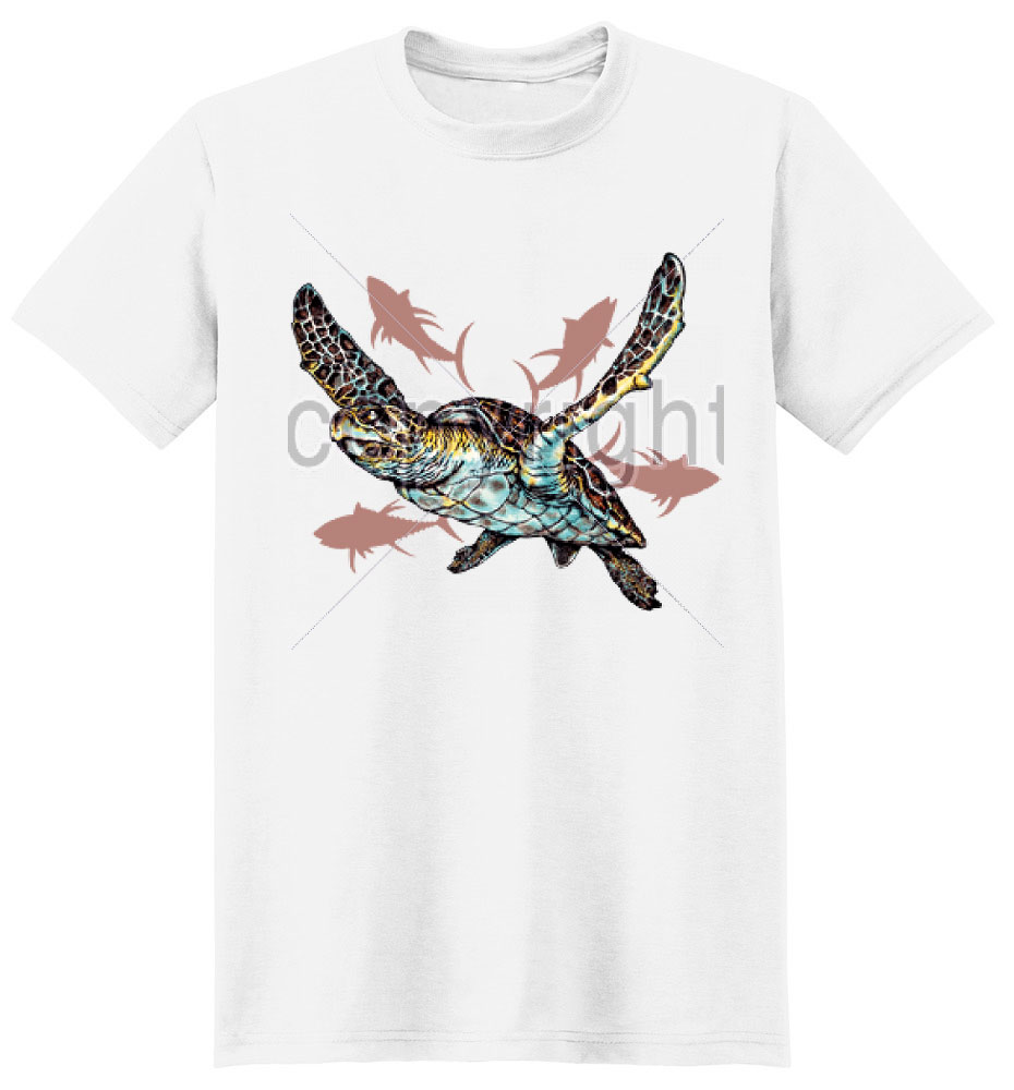 Sea Turtle T Shirt Every Detail