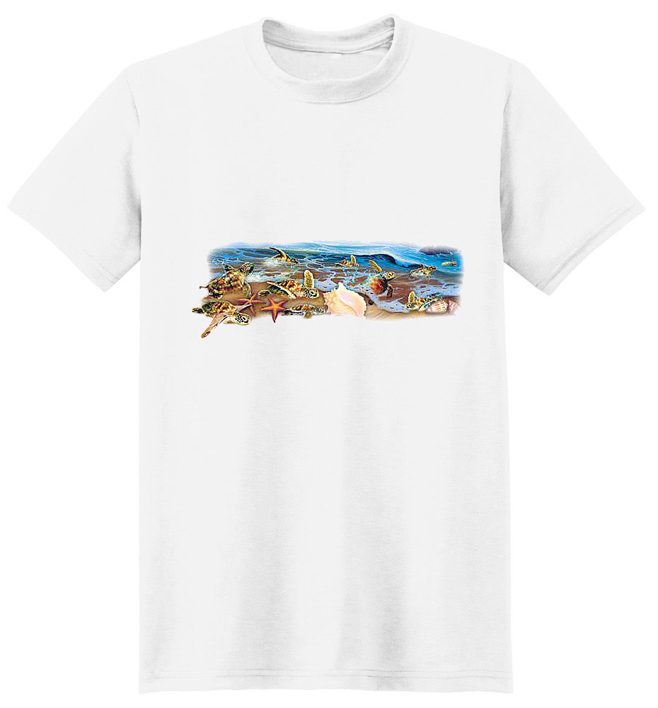 Sea Turtle T Shirt Sea Turtles And Shells