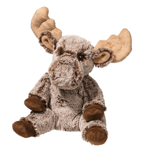 Moose Pudgie 11� Stuffed Plush Animal