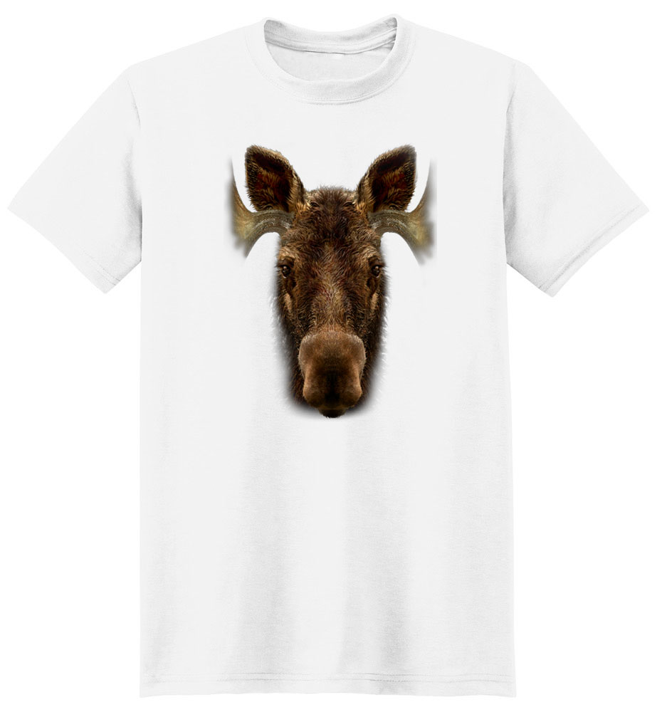 Moose T Shirt Full Face