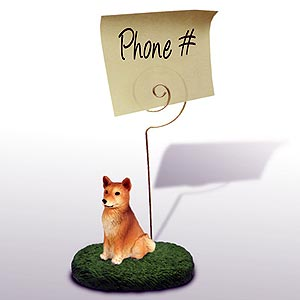 Finnish Spitz Note Holder