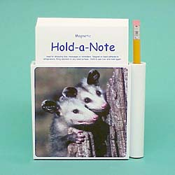 Opossum Hold-a-Note