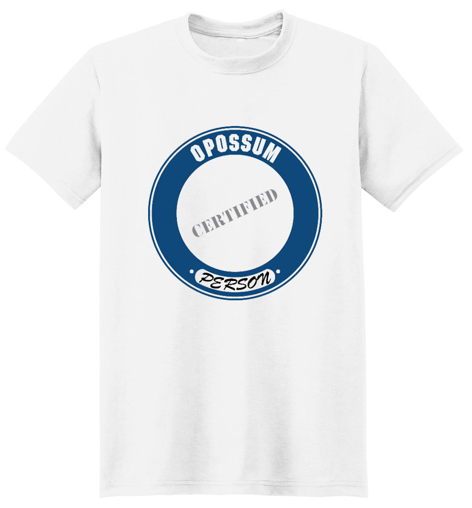 Opossum T-Shirt - Certified Person