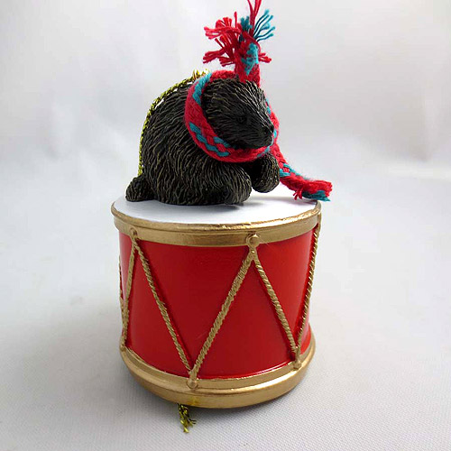 Little Drummer Porcupine Christmas Ornament