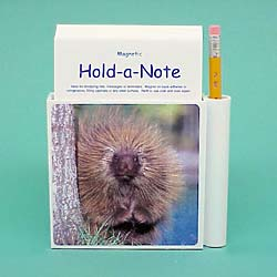 Porcupine Hold-a-Note