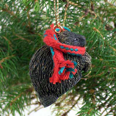 Porcupine Tiny One Christmas Ornament
