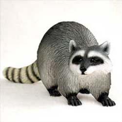 Raccoon Figurine