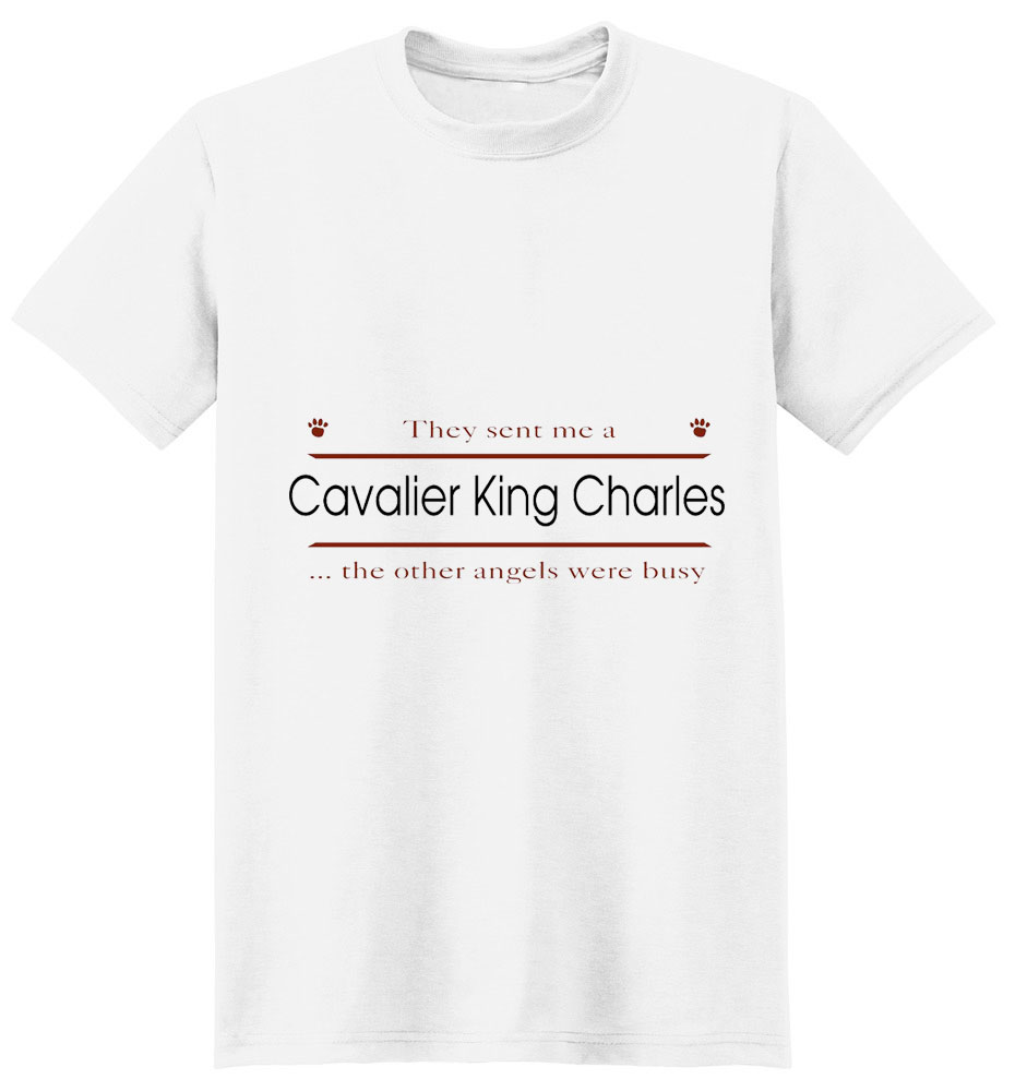 Cavalier King Charles Spaniel T-Shirt - Other Angels