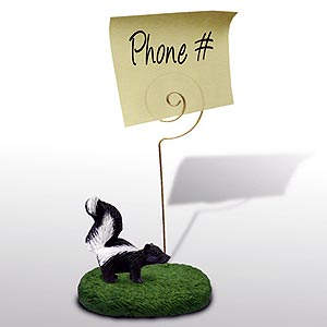 Skunk Note Holder