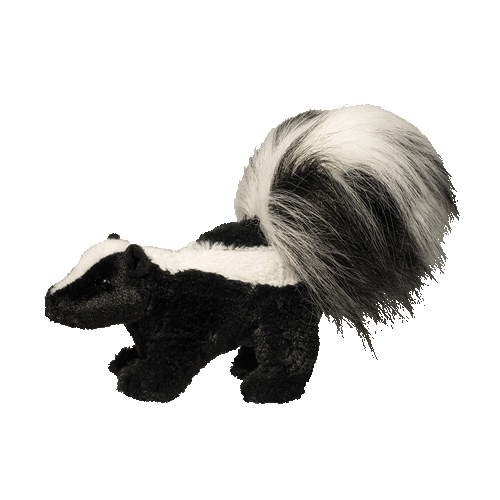 Skunk Striper 8� Stuffed Plush Animal