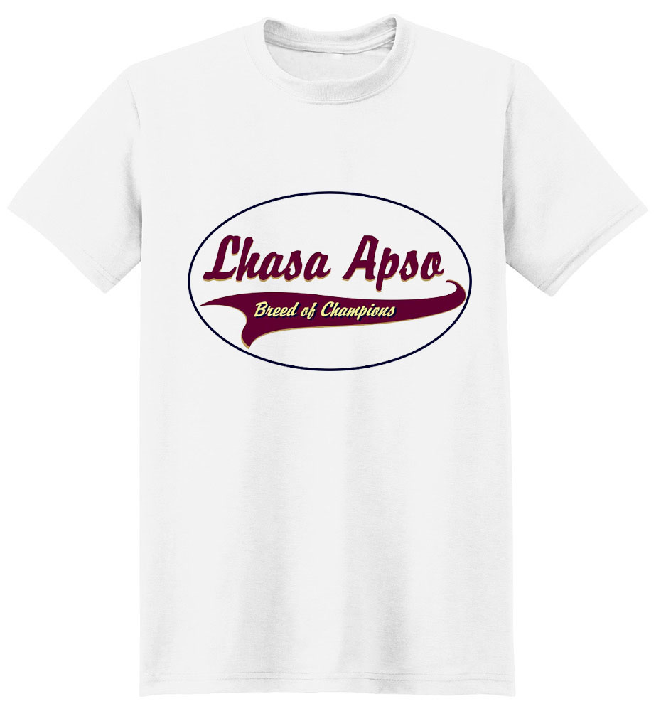 Lhasa Apso T-Shirt - Breed of Champions