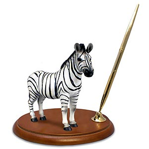 Zebra Pen Holder