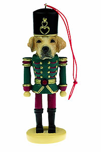 Yellow Lab Ornament Nutcracker