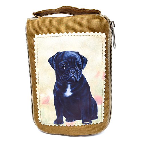 Pug Tote Bag - Foldable to Pouch
