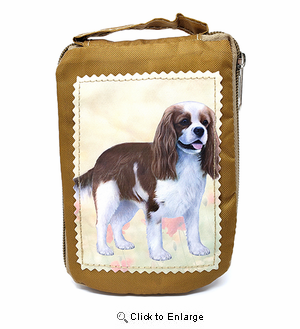 Cavalier King Charles Spaniel Tote Bag - Foldable to Pouch