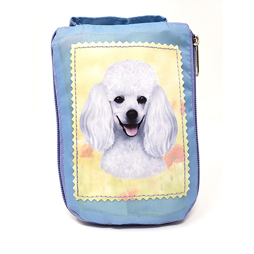 Poodle Tote Bag - Foldable to Pouch