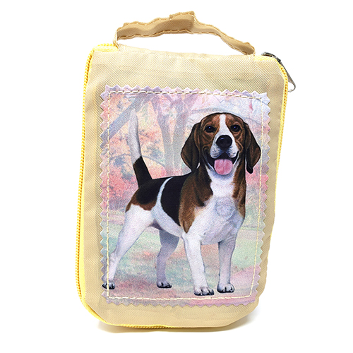 Beagle Tote Bag - Foldable to Pouch