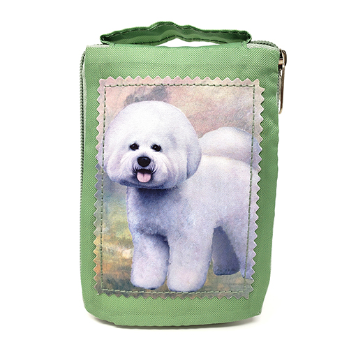 Bichon Frise Tote Bag - Foldable to Pouch