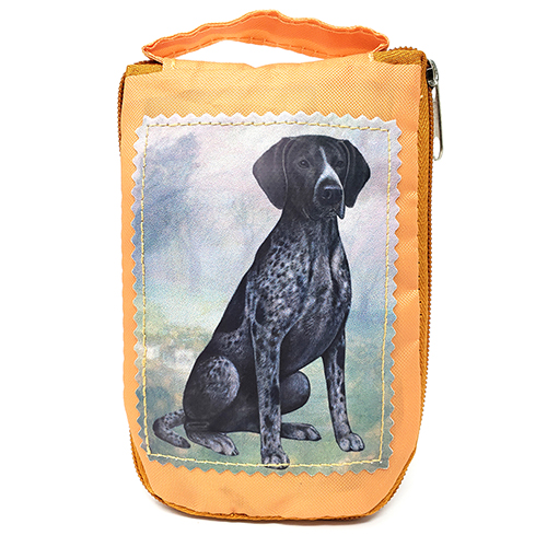 German Shorthaired Pointer Tote Bag - Foldable to Pouch
