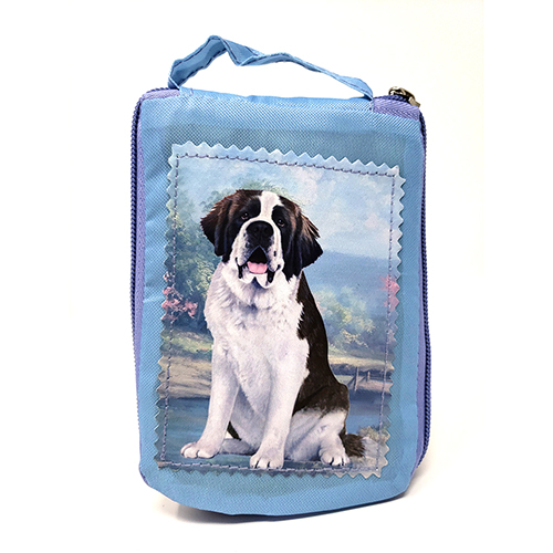 Saint Bernard Tote Bag - Foldable to Pouch
