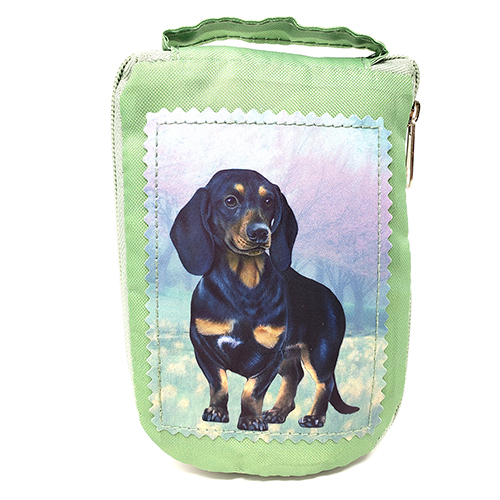 Dachshund Tote Bag - Foldable to Pouch