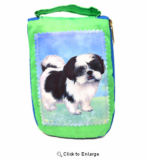 Shih Tzu Tote Bag Puppy Cut - Foldable to Pouch