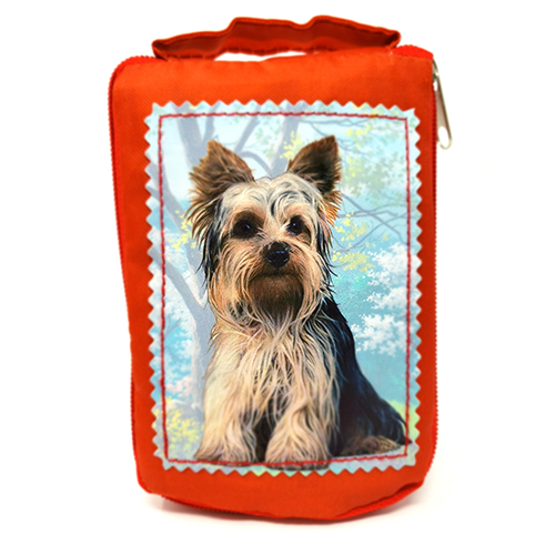 Yorkshire Terrier Tote Bag - Foldable to Pouch