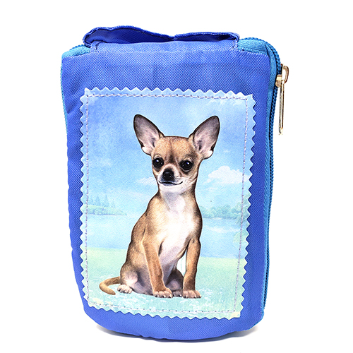 Chihuahua Tote Bag Fawn- Foldable to Pouch