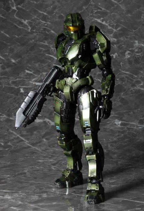 Halo Combat Evolved Master Chief Play Arts Kai Action