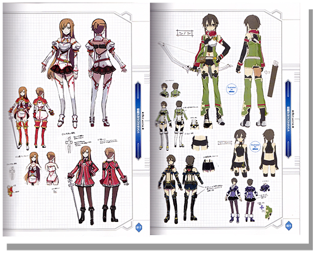 Game Character Design Complete Pdf : Sword art online infinity moment the complete guide book
