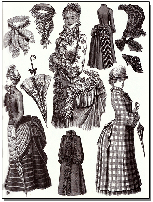 Victorian fashions a pictorial archive 68