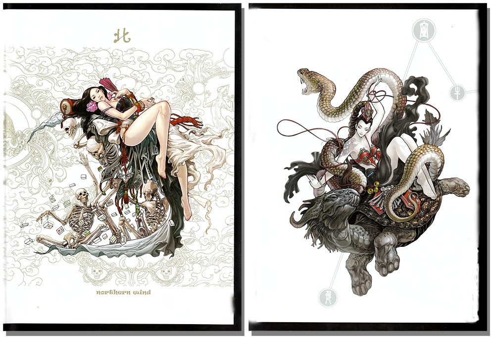 Game Character Design Books : The art of daxiong vol comic illustrations character