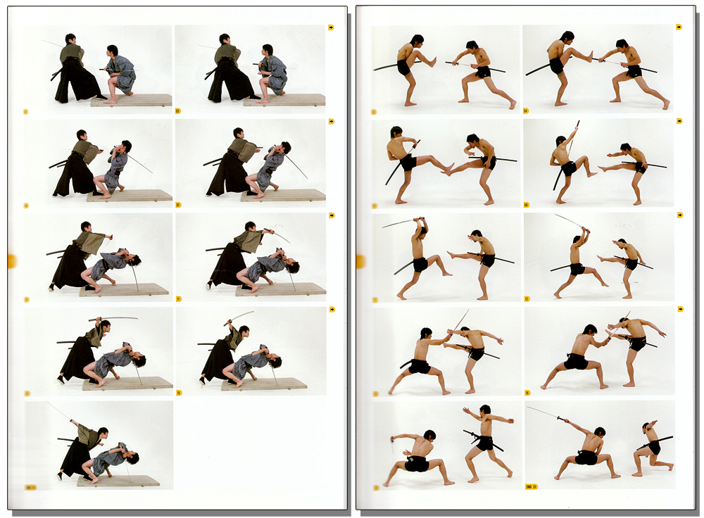 Real Action Pose Vol. 2 - Sword Fighting Drawing Reference ...