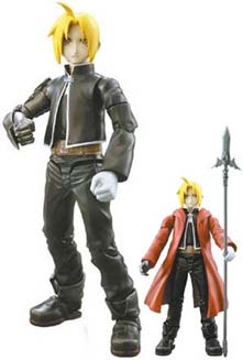 fullmetal alchemist edward elric action figures anime books. Black Bedroom Furniture Sets. Home Design Ideas