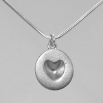 Melting Heart Necklaces: The Subtle Hint of a Heart...